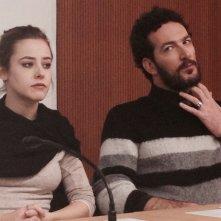 L'assalto: Camilla Semino Favro e Paolo Mazzarelli alla conferenza di presentazione della fiction a Milano