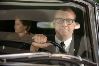 Saving Mr. Banks: Paul Giamatti in una scena