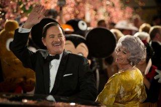 Saving Mr. Banks: Tom Hanks nei panni di Walt Disney in una scena con la 'moglie' Dendrie Taylor