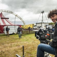 Smetto quando voglio: il regista Sydney Sibilia sul set