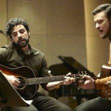 A proposito di Davis: Oscar Isaac e Justin Timberlake cantano e suonano insieme in una scena