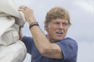 All Is Lost: Robert Redford in un bel primo piano tratto dal film