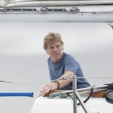 All Is Lost: Robert Redford in un difficile momento del film