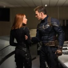 Captain America: The Winter Soldier - Tensione tra Scarlett Johansson e Chris Evans