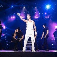 Justin Bieber: Believe, un'immagine dal film concerto di Justin Bieber in arrivo al cinema