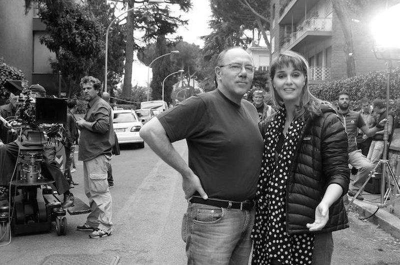 Sotto una buona stella: Paola Cortellesi e Carlo Verdone sul set