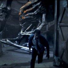 Spiders 3D: una scena del fantasy horror sui ragni giganti