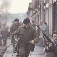 '71: Jack O'Connell in una scena del film