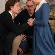 Beloved sisters: il regista Dominik Graf sul set con Florian Stetter e Henriette Confurius