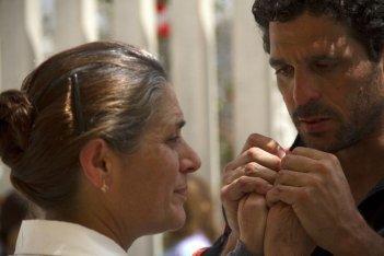 In grazia di Dio: Anna Boccadamo e Amerigo Russo in una scena