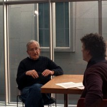 Is the Man Who Is Tall Happy?: Noam Chomsky e Michel Gondry sul set