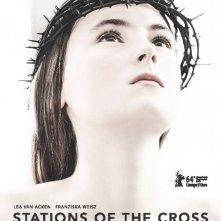 Kreuzweg - Le stazioni della fede: Lea van Acken nella locandina internazionale del film