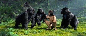 Tarzan: un'immagine dello spettacolare film d'animazione in 3D