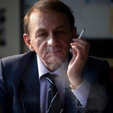 The Kidnapping of Michel Houellebecq: lo scrittore e saggista Michel Houellebecq in una scena del documentario
