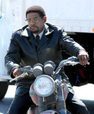 Two men in town: Forest Whitaker in una scena del film