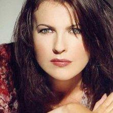 Un primo piano di Roberta Potrich, modella, attrice e conduttrice