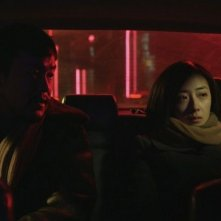 Black Coal, Thin Ice: Fan Liao e Lun Mei Gwei in una scena