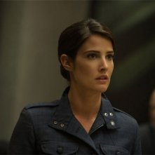 Captain America: The Winter Soldier: un primo piano di Cobie Smulders