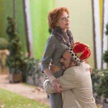 Life of Riley: Caroline Silhol con Michel Vuillermoz in una scena della commedia