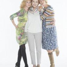 Life of Riley: Caroline Silhol con Sabine Azéma e Sandrine Kiberlain in una foto promozionale