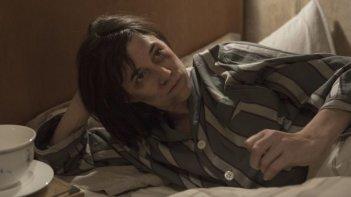 The Nymphomaniac - Part 1: Charlotte Gainsbourg col volto tumefatto in una scena del film