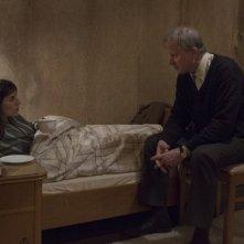 The Nymphomaniac - Part 1: Charlotte Gainsbourg in una scena del film con Stellan Skarsgård