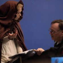 La bella e la bestia: la bellissima Lea Seydouxsul set con il regista Christophe Gans