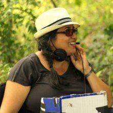 Macondo: la regista Sudabeh Mortezai sul set