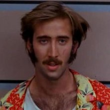 Nicolas Cage in una scena di Arizona Junior
