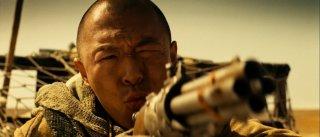 No Man's Land: Bo Huang in un primo piano tratto dal film d'azione