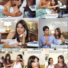 Roberta Potrich in un fotoromanzo per il magazine francese Nous Deux