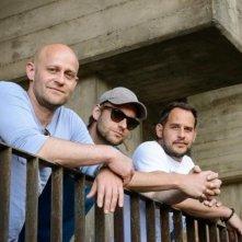 Stereo: Jürgen Vogel e Moritz Bleibtreu sul set con il regista Maximilian Erlenwein