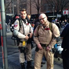 Berlinale 2014 - due ghostbuster aspettano l'arrivo di Bill Murray, il primo giorno: who you gonna call?!