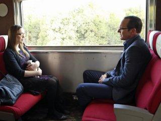 Elizabeth Henstridge e Clark Gregg  in una scena dell'episodio T.R.A.C.K.S.