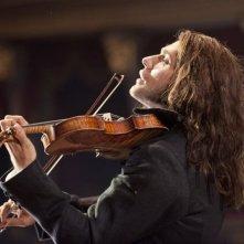 Il violinista del diavolo: David Garrett nel ruolo di Niccolò Paganini in una scena del film