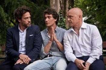 Maldamore: Alessio Boni, Luca Zingaretti e Eugenio Franceschini in una scena