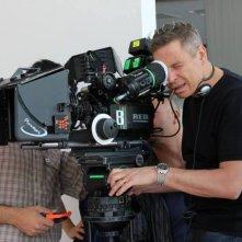 Maldamore: Angelo Longoni, regista del film, sul set