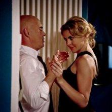 Maldamore: Claudia Gerini cerca di sedurre Luca Zingaretti in una scena del film