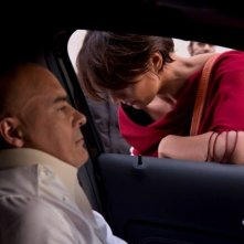 Maldamore: tensione tra Ambra Angiolini e Luca Zingaretti in una scena del film