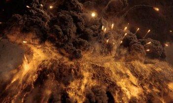 Pompei: il vVesuvio in tutta la sua violenza esplosiva