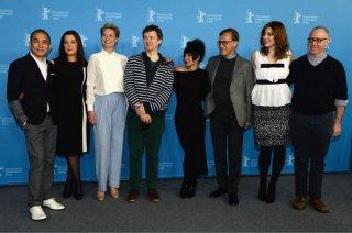 Berlino 2014: il photocall della giuria internazionale