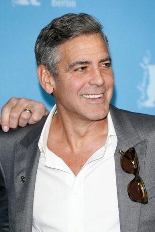 Berlino 2014 -  George Clooney presenta Monuments Men