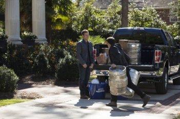 The Vampire Diaries: Zach Roerig e Michael Trevino nell'episodio The Devil Inside