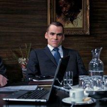 Age of Cannibals: Sebastian Blomberg, Katharina Schüttler e Devid Striesow in una scena del film