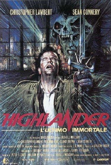 Highlander - L'ultimo immortale: locandina italiana