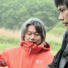 Homeland: Kenichi Matsuyama sul set del film col regista Nao Kubota