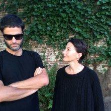 Parasite: i registi del film Anka Sasnal e Wilhelm Sasnal in una foto promozionale