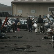 Scrap Yard: una scena del film