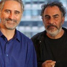 The Man of the Crowd: i registi Cao Guimarães e Marcelo Gomes in una foto promozionale