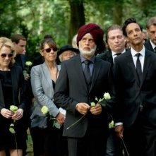 Vijay: Moritz Bleibtreu in una scena del film partecipa con un travestimento al suo funerale